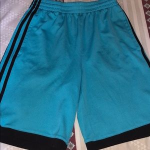 NEVER WORN!!! Boys adidas shorts